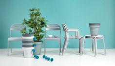 Nieuw in ons assortiment: moderne, pastelkleurige tuinstoel VENETO kost maar 19,-! Bekijk hem hier! #tuinstoel #tuinstoelen #pastel #modern #tuin #modernwonen #modernewoonstijl #kwantum #voorjaar #lente