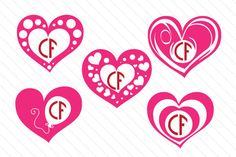 Heart Monogram Frame