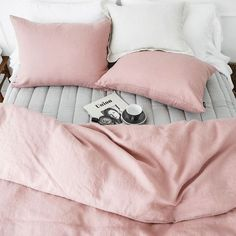 COLOUR • Soft shades of Pink, White, Grey and Black. So simple. So chic. So Mama Maya.   via @camillapihlno