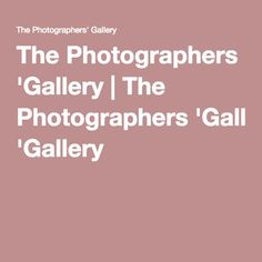 The Photographers' Gallery was founded in 1971 as the first public gallery in the UK dedicated to photography, photographers' and the development of the photographic medium. Gallery, Photographers, Cool Things, Roof Rack
