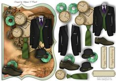 Suit O Clock male card on Craftsuprint designed by Sallyanne O'Connell - A delightful card to make that is easy to make up. A great card that would suit any male occasion. Lovely once done. Matching Insert also available for purchase.Cut out smaller portions and attach to the main image using silicone or sticky pads. Thank you for looking and or purchasing. Please click on my name to see more of my wonderful designs...Sallyanne... - Now available for download!