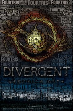 I thought this was a neat make-up of the nickname for Four and Tris' relationship into the book cover. Not really sure how a person thinks to make this or how they go about doing it. (Haymitch's Empty Bottle)