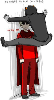 Homestuck- Dave Strider and Karkat Vantas DaveKat