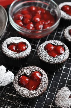 Make your valentine something sweet! these desserts would be perfect.