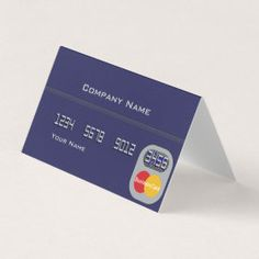 Credit Card | Zazzle.com Credit Card Machine, Sales And Marketing, Company Names, Things To Come, How To Make, Cards, Business Names, Maps, Playing Cards