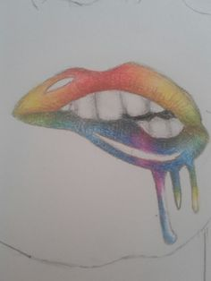 Rainbow Lips | Laura Francini