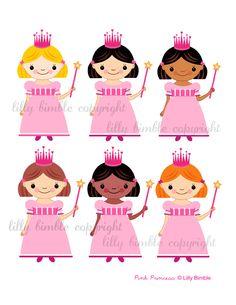 Pink Princess - Cliparts - Mygrafico.com