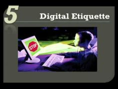 Digital citizenship can be defined as the norms of appropriate, responsible behavior with regard to technology use.      1.   Digital Access    2.   Digital Commerce    3.   Digital Communication   4.   Digital Literacy  5. Digital Etiquette   6.   Digital Law  7.   Digital Rights & Responsibilities   8.   Digital Health & Wellness  9.   Digital Security ...