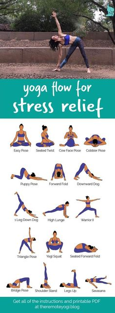Yoga Flow For Stress Relief This printable PDF is the perfect thing to have hand. Yoga Flow For Stress Relief This printable PDF is the perfect thing to have handy when you are stressed and needing a little breather. Yoga Beginners, Beginner Yoga, Yoga For Beginners Anxiety, Yoga Stress, Yoga For Stress Relief, Yoga To Relieve Stress, How To Reduce Stress, Ways To Manage Stress, Natural Stress Relief