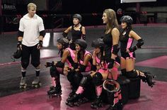What do you get when you take a bunch of Bachelorettes on a roller derby group date? One of them ending up in the hospital of course! Watch the ladies duke it out for a rose on 'The Bachelor,' Mondays at 8/7c on ABC.