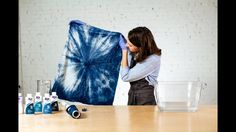 How to Shibori Dye (Kanoko Style) with Rit Dye