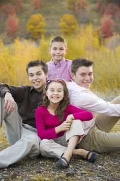 Family pictures taken at Spanish Fork Canyon.