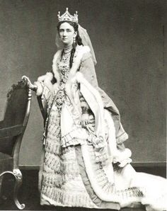 Princess Louise of Hesse-Cassel of Denmark. Wife of Christian IX of Denmark and mother of George I of Greece, Tzarina Marie and Queen Alexandra of England
