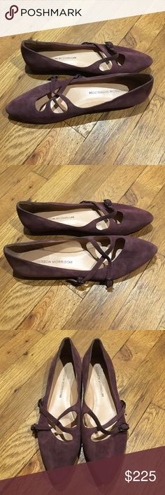 Authentic Sigerson Morrison Mauve Flats BNWT! Never worn! These were purchased from a sample sale. Color: Mauve. Size 6. No box or dust bag included. Sigerson Morrison Shoes Flats & Loafers