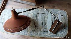 Vintage: Lámpara vintage años 50 Aplique diseño nórdico escandinavo para pared, mesa, cama, sillón, sofá... - Foto 2 - 85374692