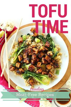 If you've been dismissing this protein-packed meat substitute, you're missing out! Here are the most socially shared ways to dress up tofu. // spryliving.com