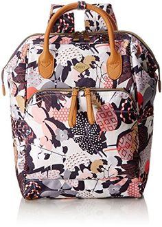 d1aaaa7c7c9 Oilily Damen Backpack Rucksack, Grau (Charcoal), 11.5x40x27 cm #oilily #