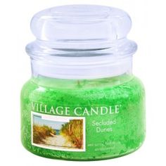 Village Candle Limited Edition Small Jar - Secluded Dunes