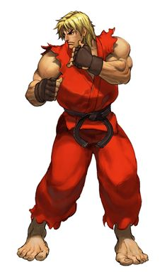 SF3 Ken (in hi-res and animated)