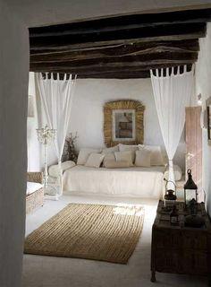 Este rincón es ideal para una casa de vacaciones.