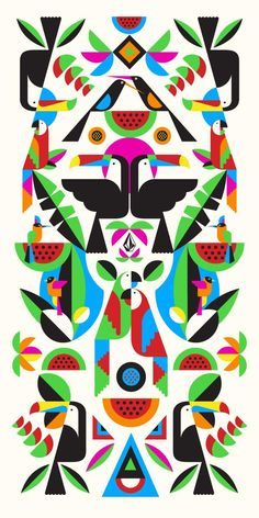 Flat Illustrations by Malika Favre (4)