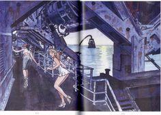 Manara Maestro dell'Eros-Vol. 23, Manara e il teatro-102, 103
