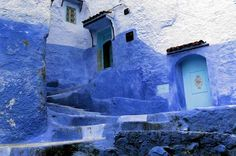 Chefchaouen, in blue All Over The World, Around The Worlds, Blue City, Europe, Morocco, Tourism, Places, Cities, Photography
