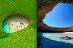 I Just Cannot Get Over This Surreal Hidden Beach. I've got to put this in my bucket list!