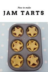 Come and look at this yummy jam tarts recipe I made with the children! Only four ingredients needed and very easy to make! Tart Recipes, Dessert Recipes, Desserts, Strawberry Jam Tarts, How To Make Jam, Homemade Baby Foods, Vegetable Drinks, Cooking With Kids, Kids Meals