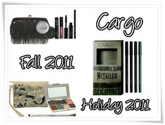 Cargo Metallico Collection for Fall 2011 Holiday 2011 – Musings of a Muse Cargo Cosmetics, Metallic Eyeshadow, Glitter Top, Beaded Clutch, Wet And Dry, I Fall, Midnight Blue, Travel Size Products, Muse