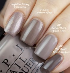 OPI Germany Collection Swatches & Comparison | A Polish Addict