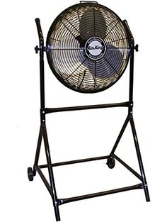 Air King 9219 18-Inch Industrial Grade High Velocity Roll-About Stand with Fan ❤ Air King