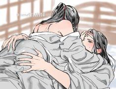 Mpreg Anime, Manga Anime, Hot Anime Boy, Anime Guys, Cute Giraffe Drawing, Yuri, Drawing Body Poses, Romantic Anime Couples, Fantasy Art Men