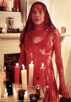 The career-defining role of Carrie earned actress Sissy Spacek an Oscar nomination for best actress in 1977