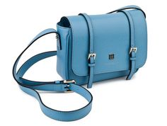 Blue Betty small satchel #Coccinelle #Bags #Satchels