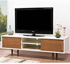 online shopping for Baxton Studio Gemini Wood Contemporary TV Stand, White from top store. See new offer for Baxton Studio Gemini Wood Contemporary TV Stand, White Modern Apartment, Tv Stand Wood, Living Room White, Contemporary Tv Stands, Mid Century Modern Wood, Modern Apartment Decor, Modern Tv Stand, Tv Console Modern, Wholesale Interiors