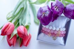 Spring is almost here! #spring #flower #bracelets