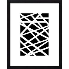FREE SHIPPING! Shop Joss & Main for your Criss Cross Framed Print. Hang this trendy framed print on its own for a touch of flair, or group it with bold wall mirrors and canvas print for a dynamic gallery wall display.