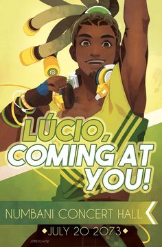 Lucio Concert Poster by freichou