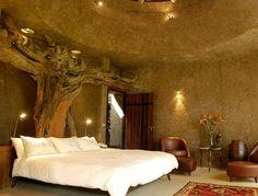 Earth Lodge, Sabi Sabi Private Game Reserve, South Africa Luxury Safari Lodges