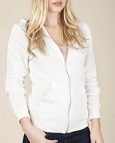 Alternative AA9590 Unisex 6.4 oz. Rocky Full-Zip Hoodie - ECO IVORY - 2XL- #fashion #Apparel find more at lowpricebooks.co - #fashion