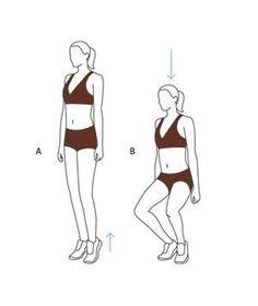 Inner Thigh Workout Move: First-Position Plié Squat