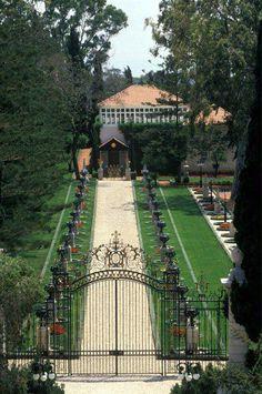 Shrine of Bahá'u'lláh. Located in Bahjí near Acre, Israel, the Shrine of Bahá'u'lláh is the most holy place for Bahá'ís and represents the Qiblih, or direction of prayer.