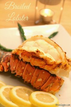 Broiled Lobster Tails - BitznGiggles