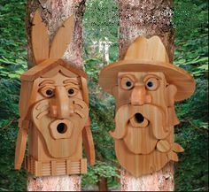 Cedar Cowboy & Indian Woodcraft Patterns with instructions. Made from layers of standard cedar boards.