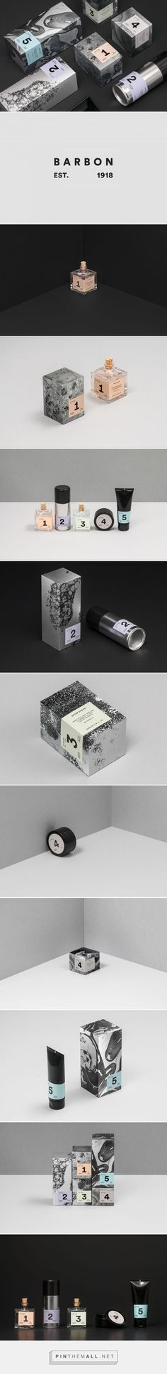 Barbon packaging on Behance by Peltan-Brosz Roland Budapest, Hungary curated by Packaging Diva PD. Barbon is Caola's range of products for men's shaving.