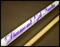 This Custom Cue order went to the UK It costs more to personalize