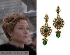Reign: Season 2 Episode 15 Queen Catherine's Circle Drop Earrings