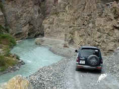 """""""Stop worrying about the potholes in the road and enjoy the journey."""" – Babs Hoffman #Tajikistan,#Yagnob, #Adventure"""