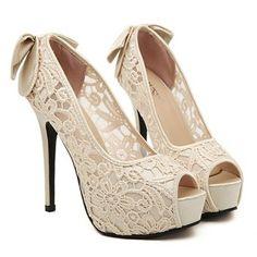 Dulce Bowknot y de la flor del bordado mujeres del diseño Peep Puntera Zapatos
